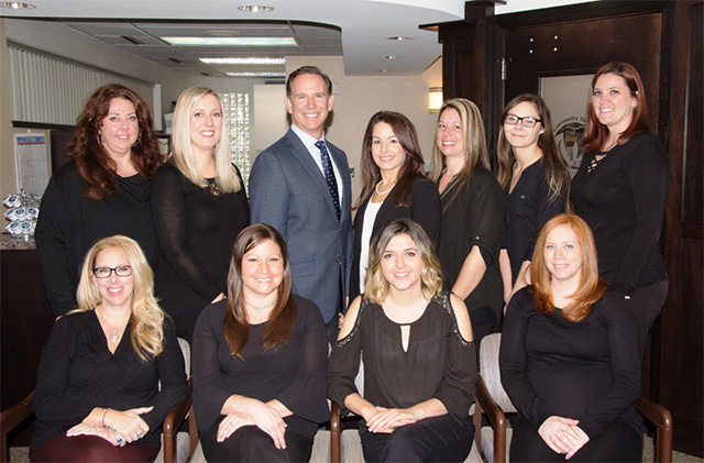 Dr. Bruce Smoler and Professional Team